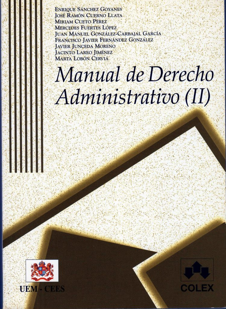 Libro de derecho administrativo II
